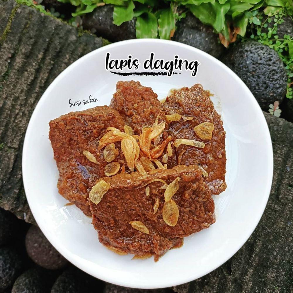 Resep Lapis Daging Instagram Di 2020 Resep Daging Resep Daging Sapi