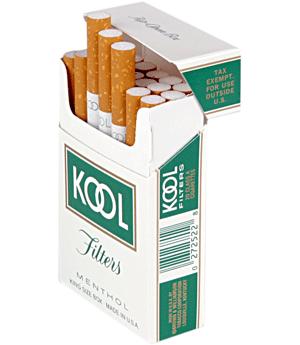 Kool cigarettes official website