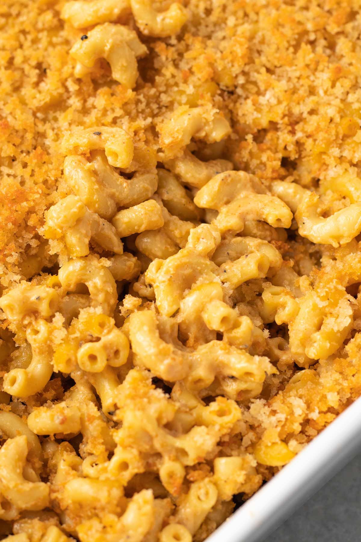 Baked Vegan Mac And Cheese Karissa S Vegan Kitchen Recipe In 2020 Vegan Mac And Cheese Comfort Food Recipes Casseroles Vegan Kitchen