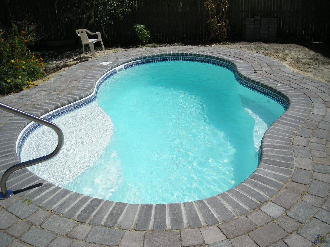 Swiming pools beautiful inground pool styles with all the for Small swimming pool sizes and shapes