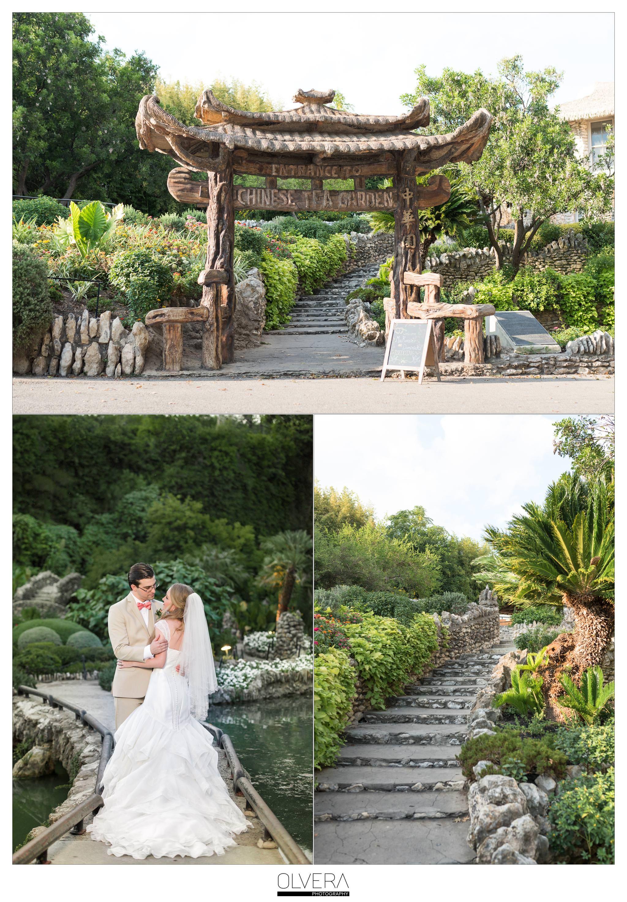 Japanese Tea Garden intimate wedding in San Antonio, TX