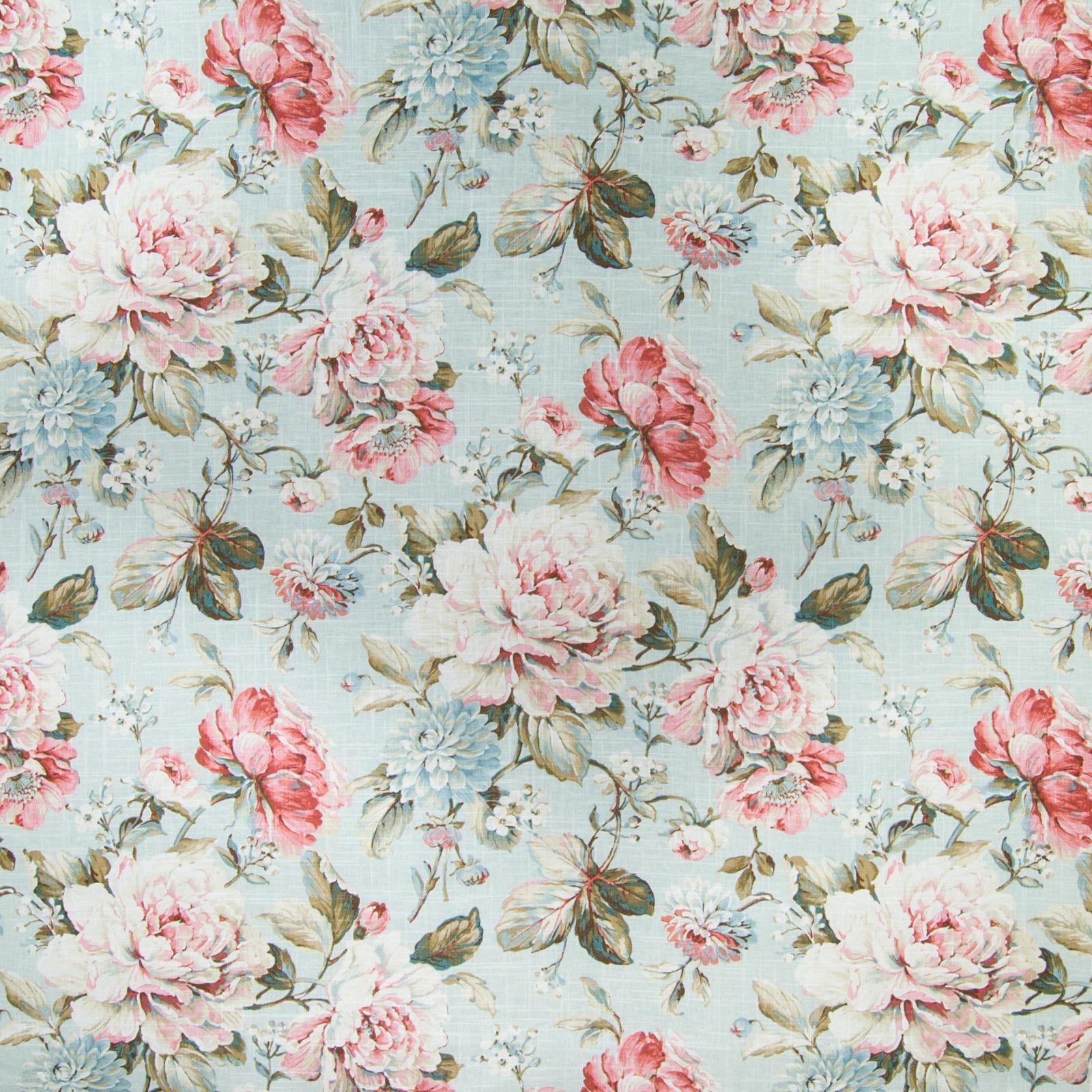 B2347 Silver Sage Greenhouse Fabrics Fabric Decor Floral Fabric