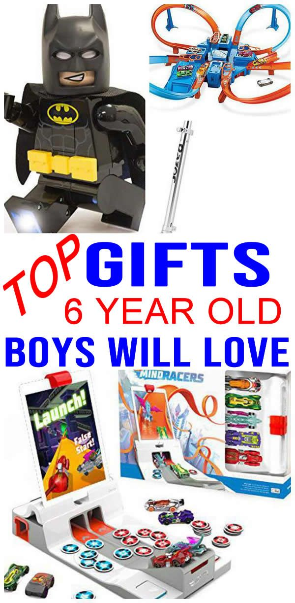 BEST Gifts 6 Year Old Boys Will Love | Best gifts for boys ...
