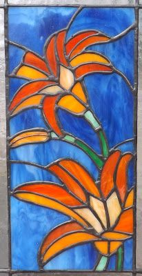"""Unearthing My Creative Identity: """"Spring"""" in Stained Glass"""