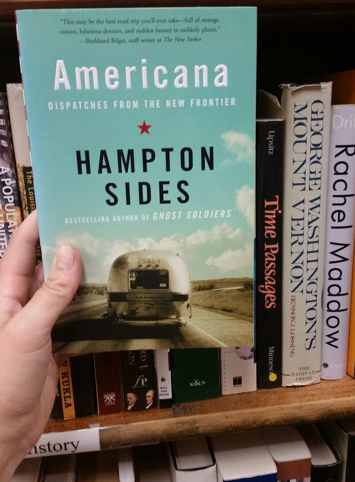 Americana: Dispatches from the New Frontier by Hampton Sides