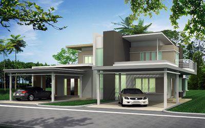 Greenville Phase 4 Haus 1 1 2 Geschossiges Doppelhaus
