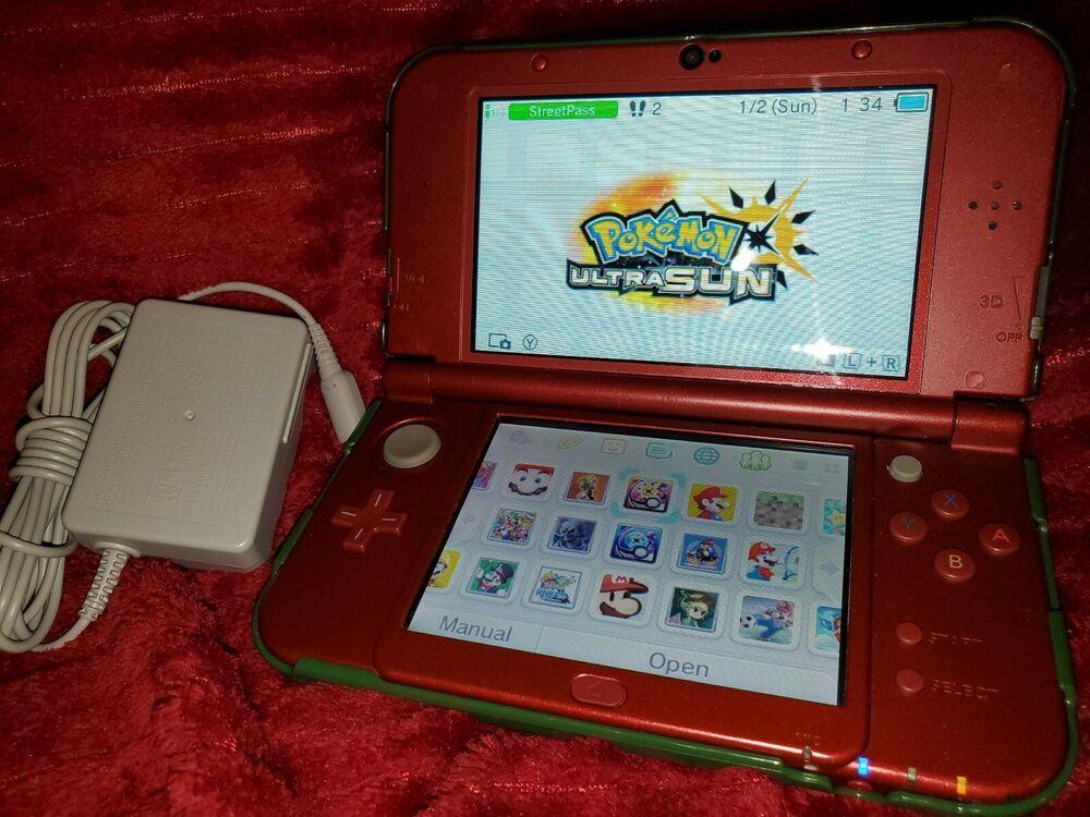 Nintendo New 3ds Xl 78 Games Pokemon Zelda Smash Bros Minecraft Mario Yoshi Minecraft Playing Game 3ds Xl Nintendo 3ds Nintendo