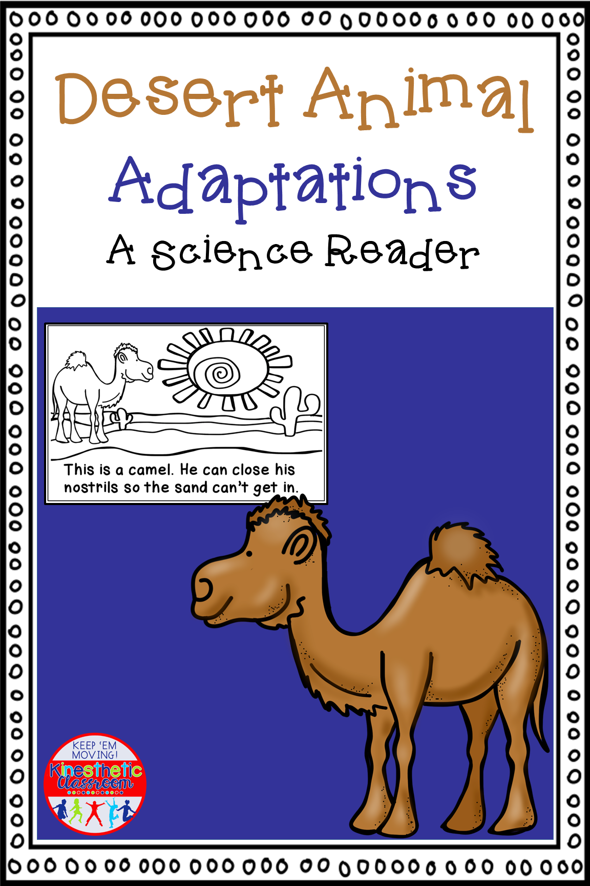 Desert Animal Adaptations Science Reader