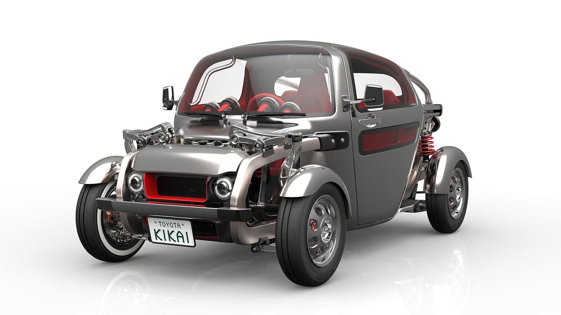 2015 Toyota Kikai Concept  http://www.wsupercars.com/toyota-2015-kikai-concept.php