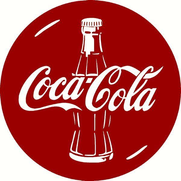 vintage sticker coca cola coke smile bumper sticker
