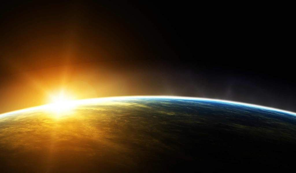 Sun Rounding Earth Nasa 16217 1024x600 Download High Resolution Galaxy Pictures Earth From Space Hd Space