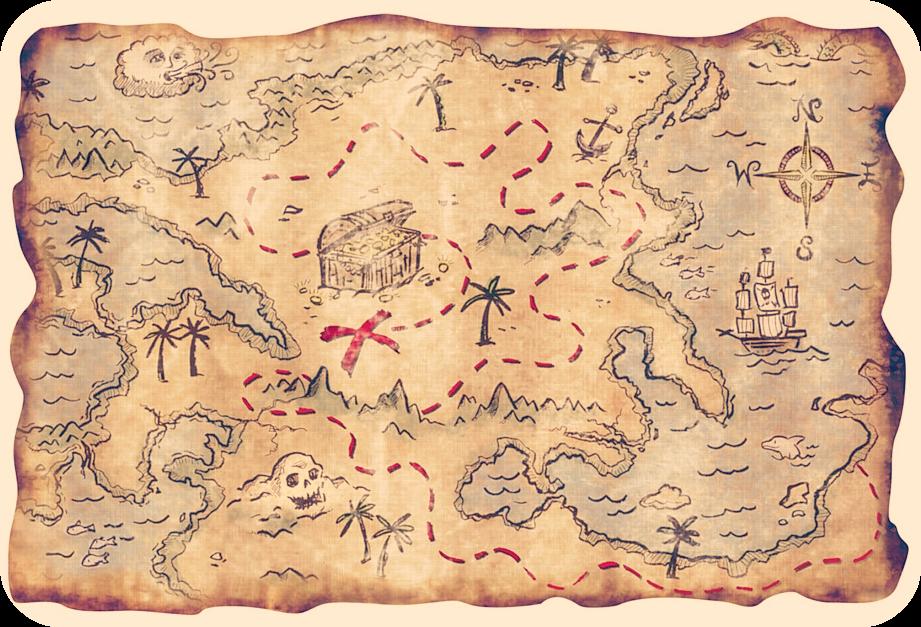 Pirate Treasure Map Pirate Treasure Maps Pirate Maps Treasure Maps