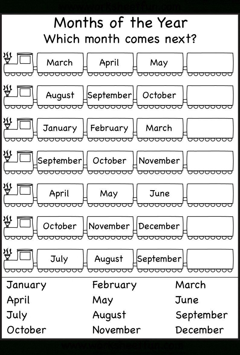 Calendar Worksheets for First Grade 12 Daily Calendar ...