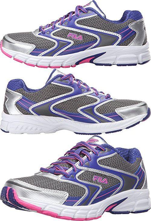 Fila Women's Xtent 3 Running Shoe, Dark SilverRoyal Blue