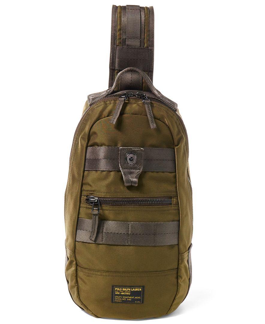 c7ef7e3f31 Polo Ralph Lauren Men s Military Sling Bag