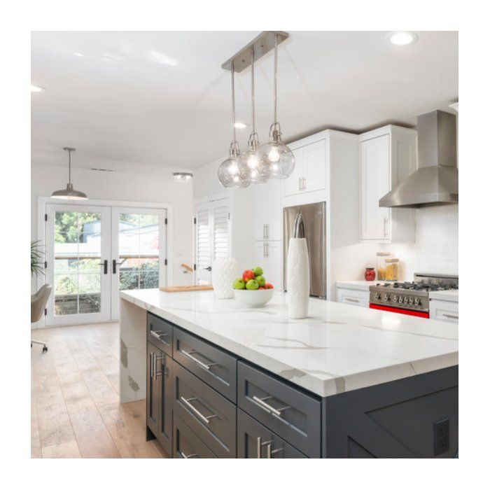 Burner 3-Light Kitchen Island Pendant & Reviews