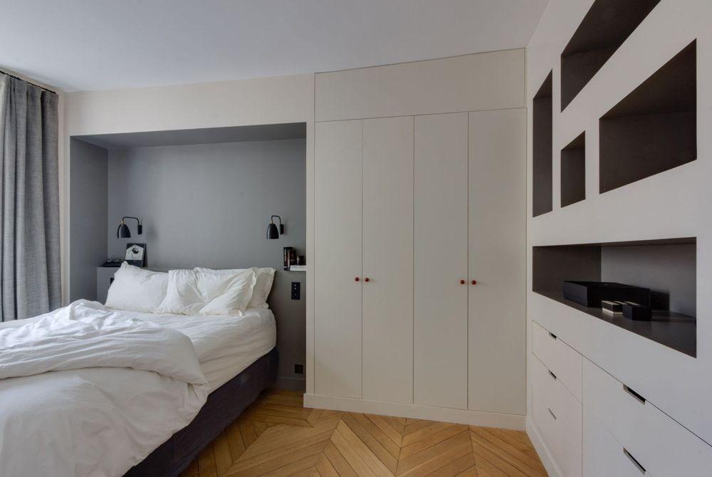 40 idee di lavori in cartongesso per la camera da letto for Armadio da soggiorno