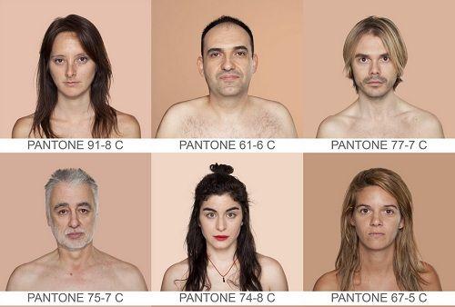 PANTONE skin tones Me likey Pinterest Pantone color chart - sample pantone color chart