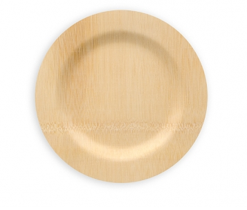Bamboo plates and napkins at Ikea | Inspiration:: Vow