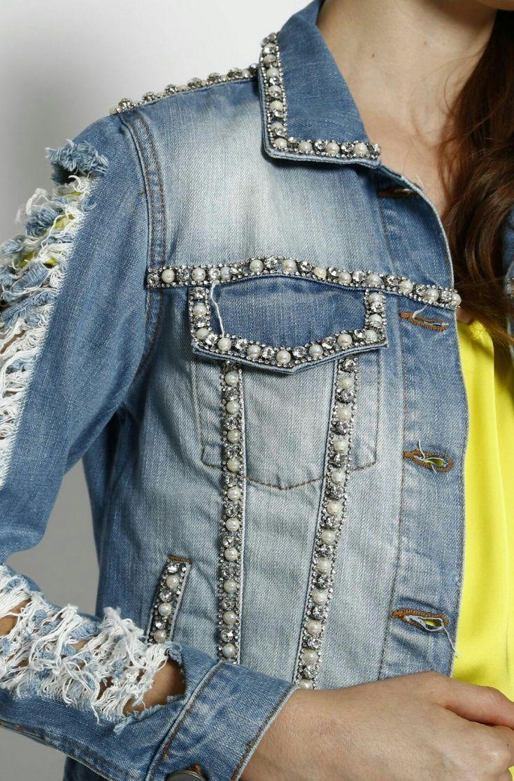 как украсить джинсовый пиджак своими руками фото спасибо просмотры, ставьте