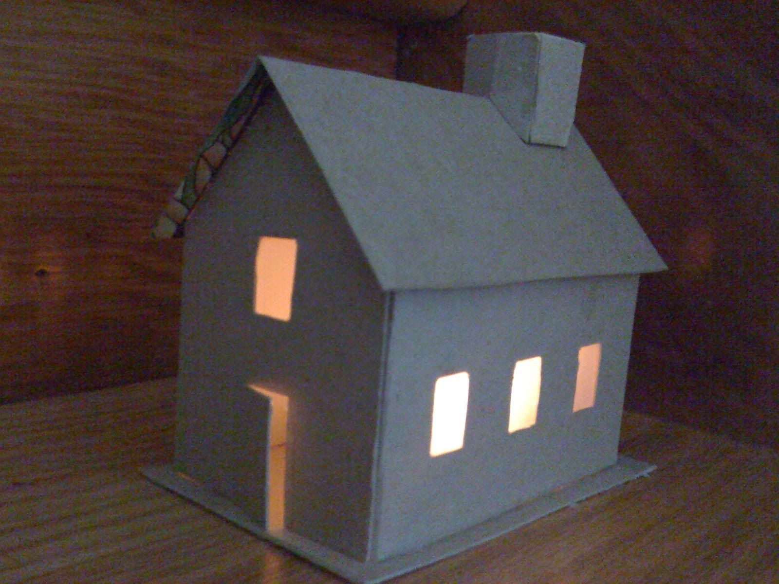 Diy House Night Light By We Bloom Here