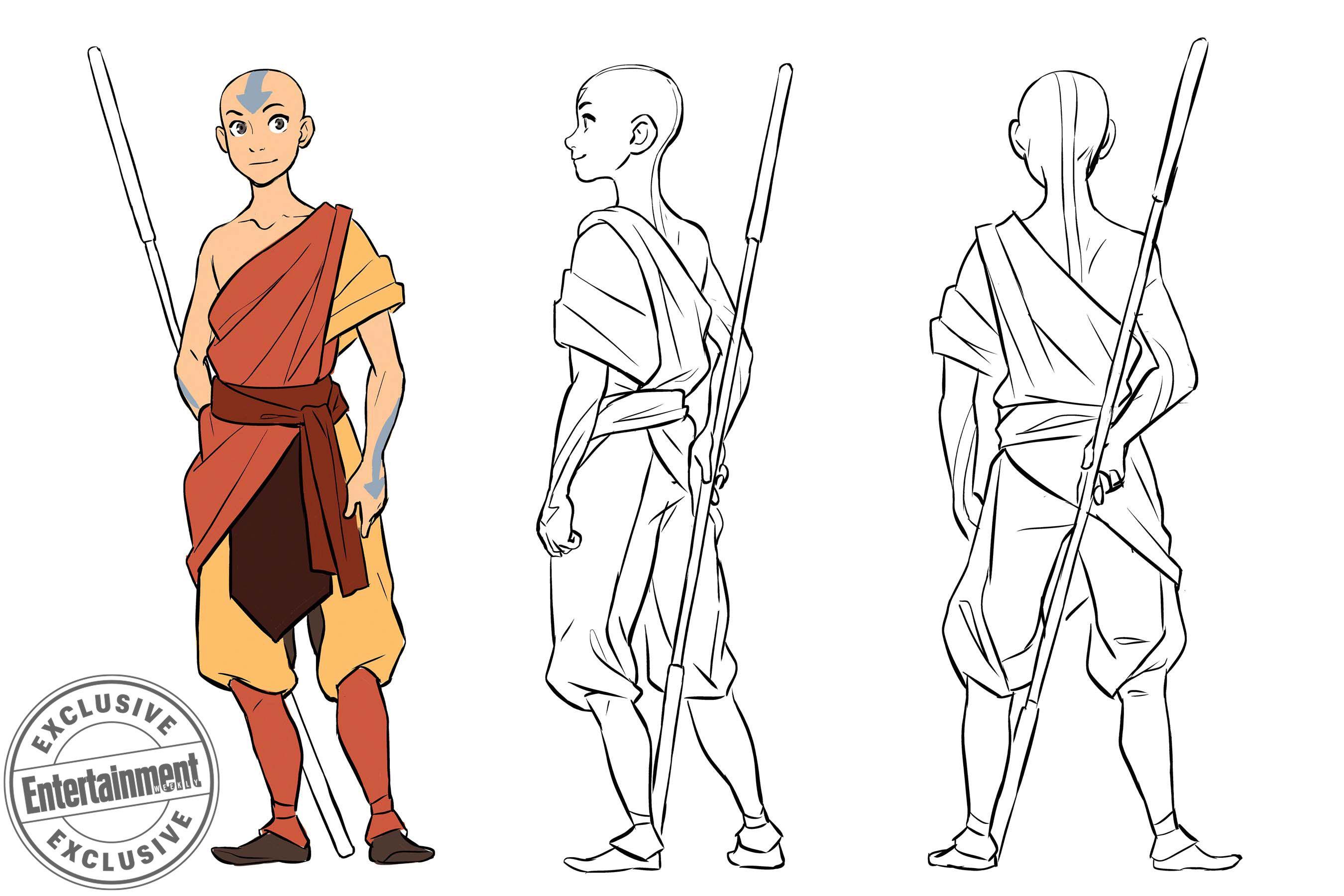 avatar character design avatar: the last airbender' comic gets new creators, new