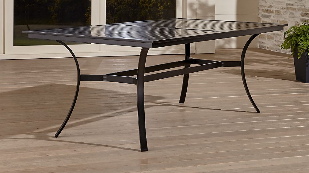 Regent Dining Table 679 Overall Dimensions Width 79 Depth 42 Height 29 Floor To Apron Height 27 Weather R Patio Dining Furniture Table Dining Table