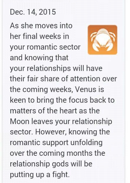 Keen horoscope cancer