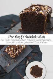 Der Beste Schokokuchen #schokokuchen Saftiger Schokokuchen, mit extra viel Schok… – Schokoladenkuchen Rezepte