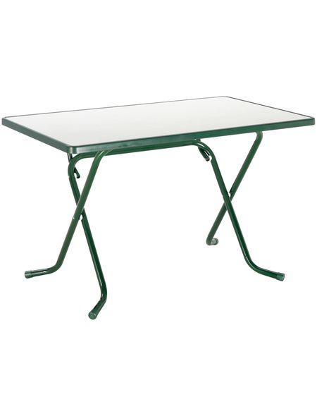 Gartentisch »Primo«, klappbar, Stahl/Alcolit, 110x70 cm Jetzt