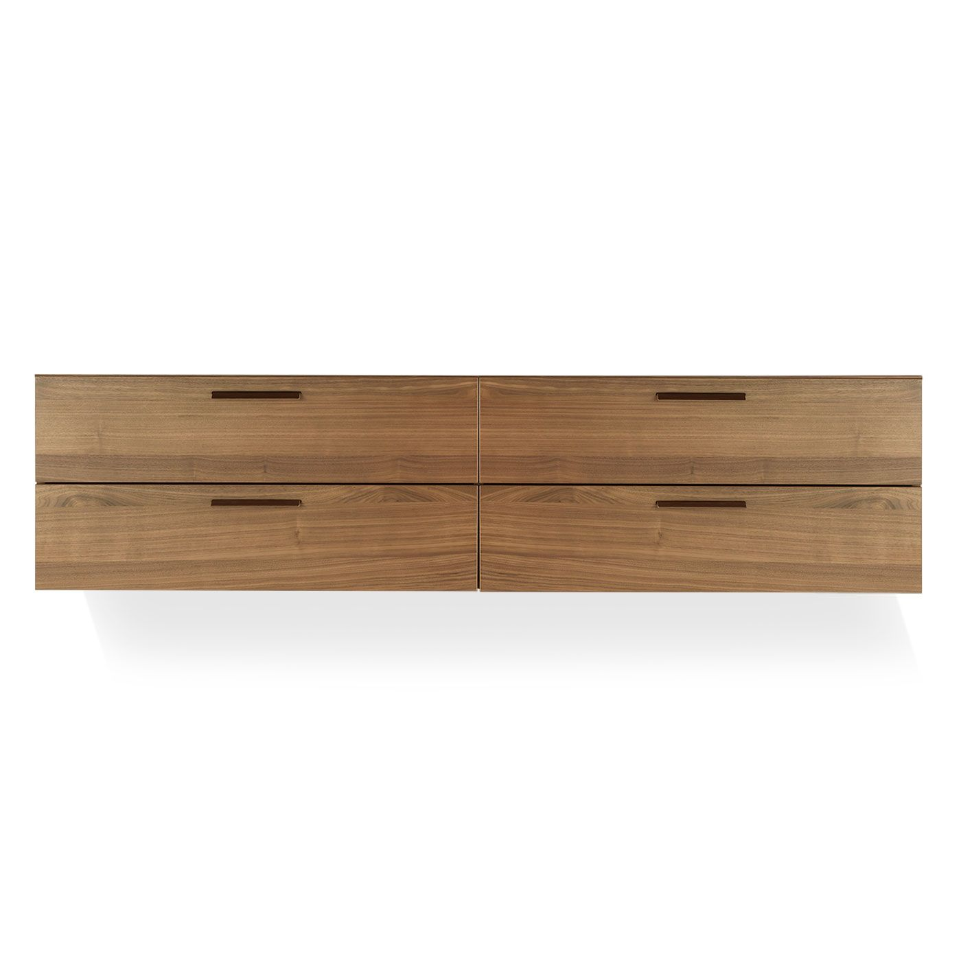 Shale 4 Drawer Wall Mounted Cabinet Wall Mounted Cabinet Wooden Walls Modern Dresser