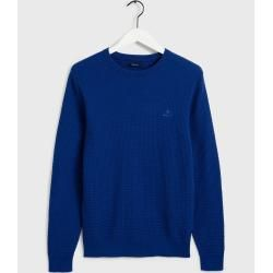 Photo of Gant Signature Weave Pullover (Blau) Gant