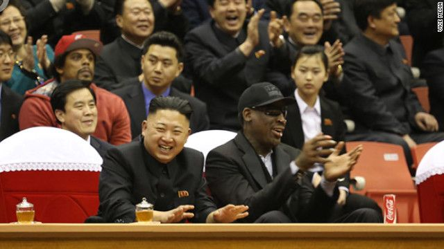 In North Korea, Dennis Rodman fouls out