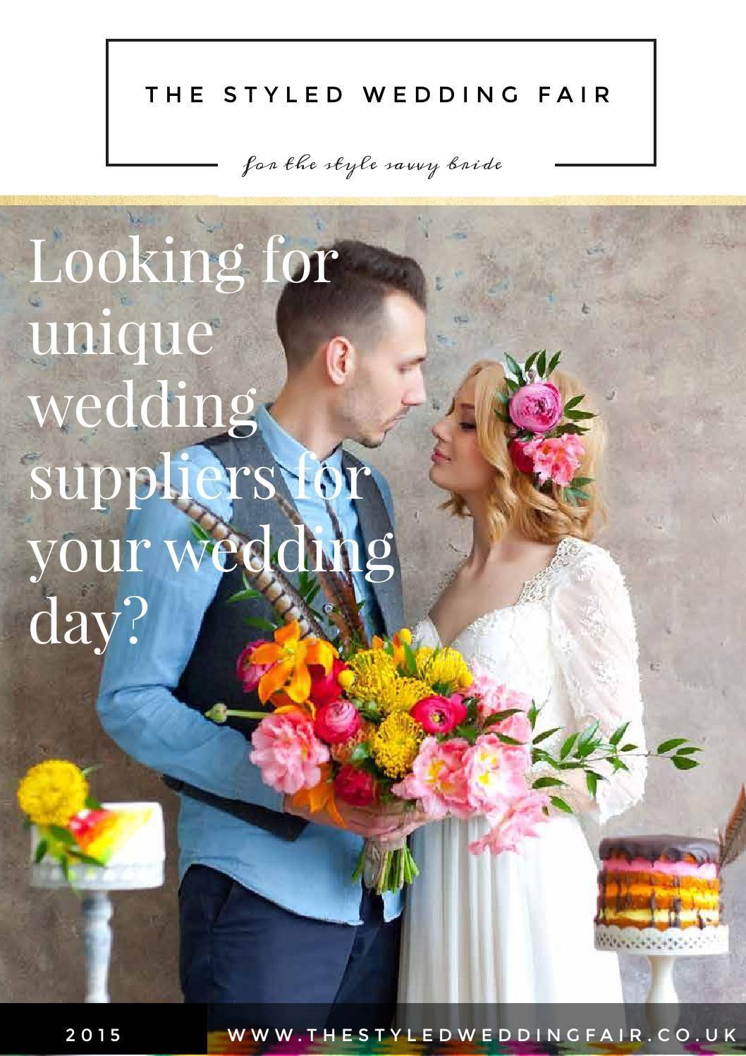 The Styled Wedding Fair Magazine Ed01 2017