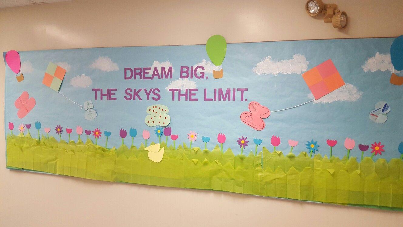 Dream Big bulletin board