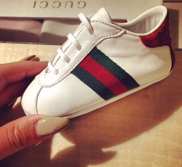Gucci Baby Pram Shoes