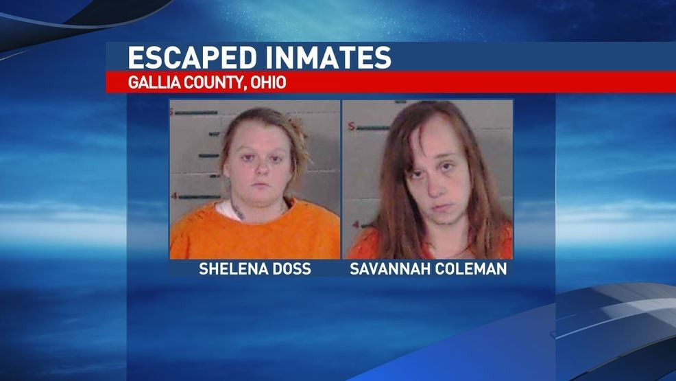 Two inmates escape Gallia County Jail, one back in custody
