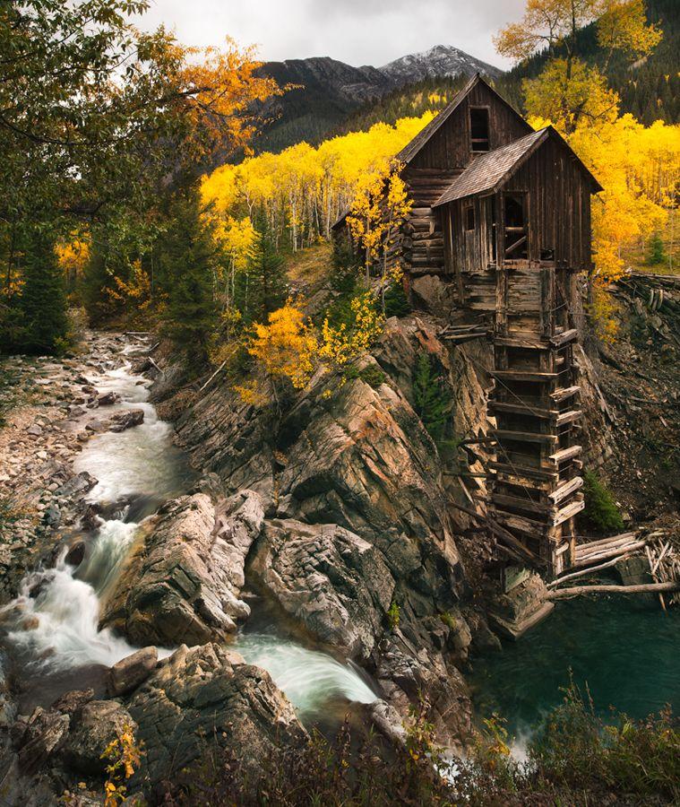 Most Haunted Places In Colorado Springs: Dead Horse Mill. Crystal, Colorado