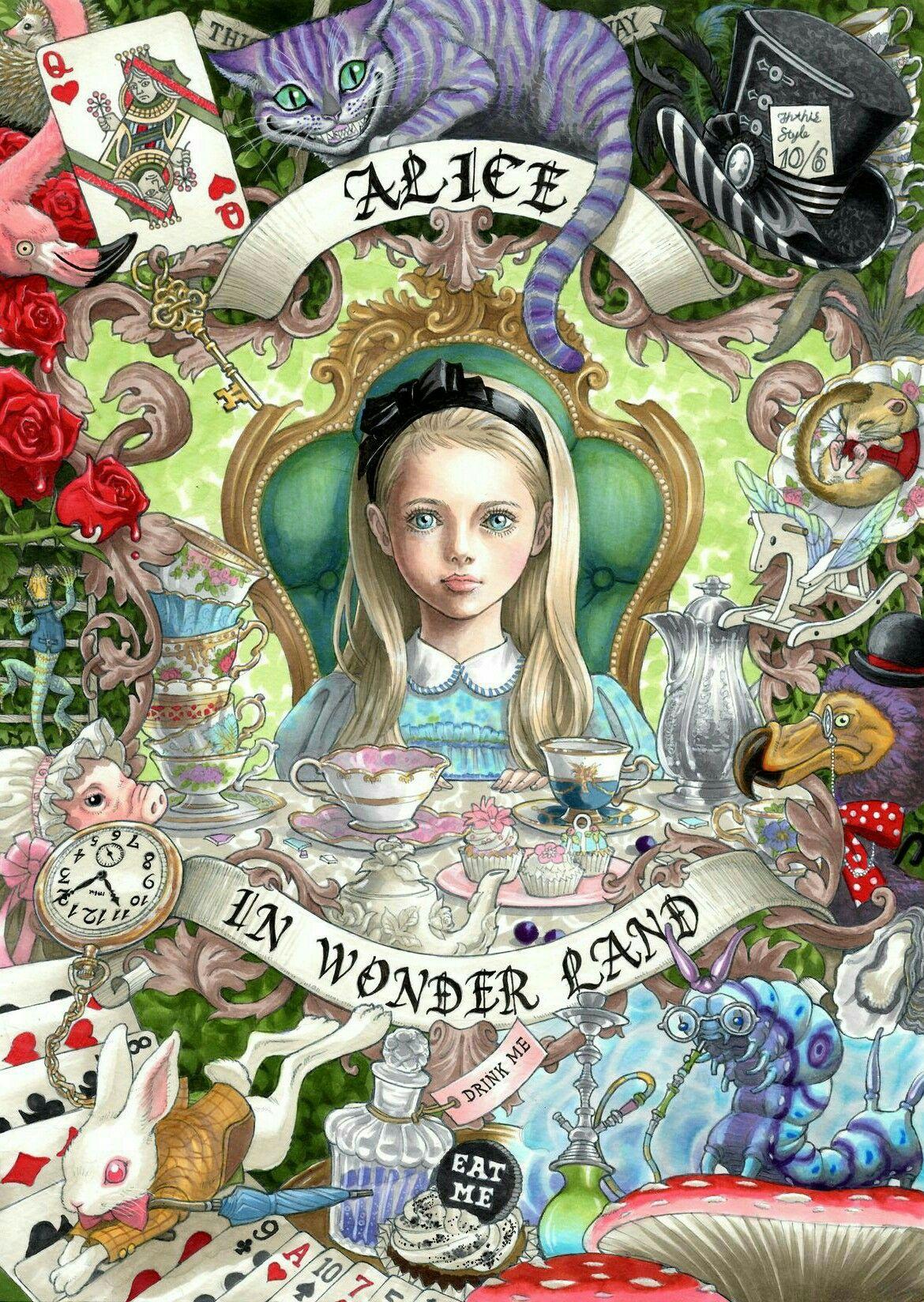 Pin von Samantha Turberg auf wonderland | Pinterest | Zeichnungen ...