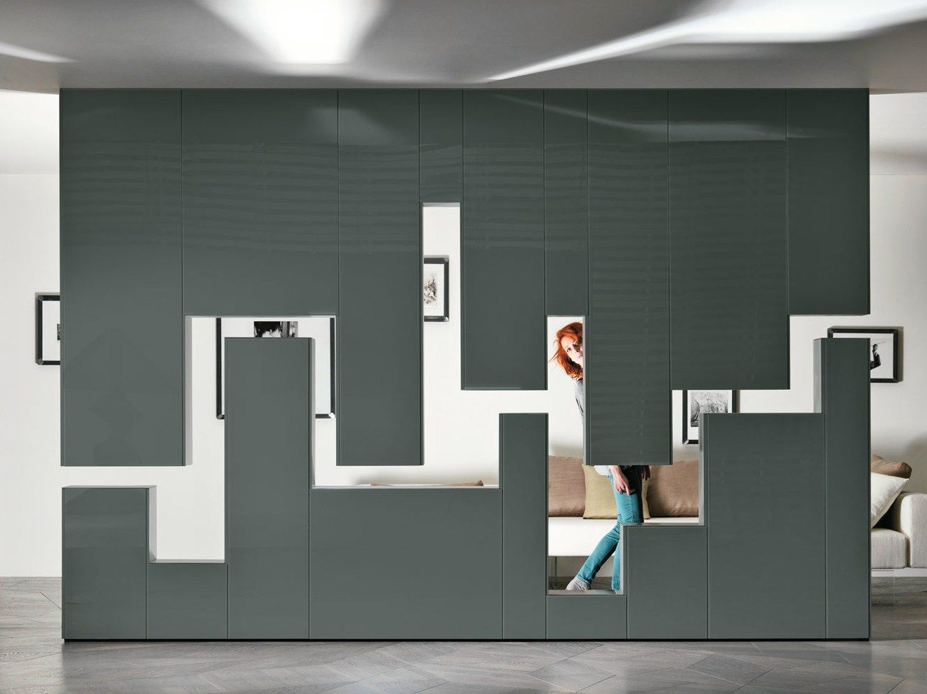 Divider wallmounted storage wall mm lagolinea weightless by