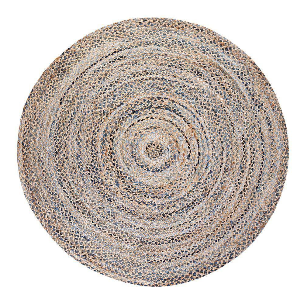 8ft round farmhouse rug