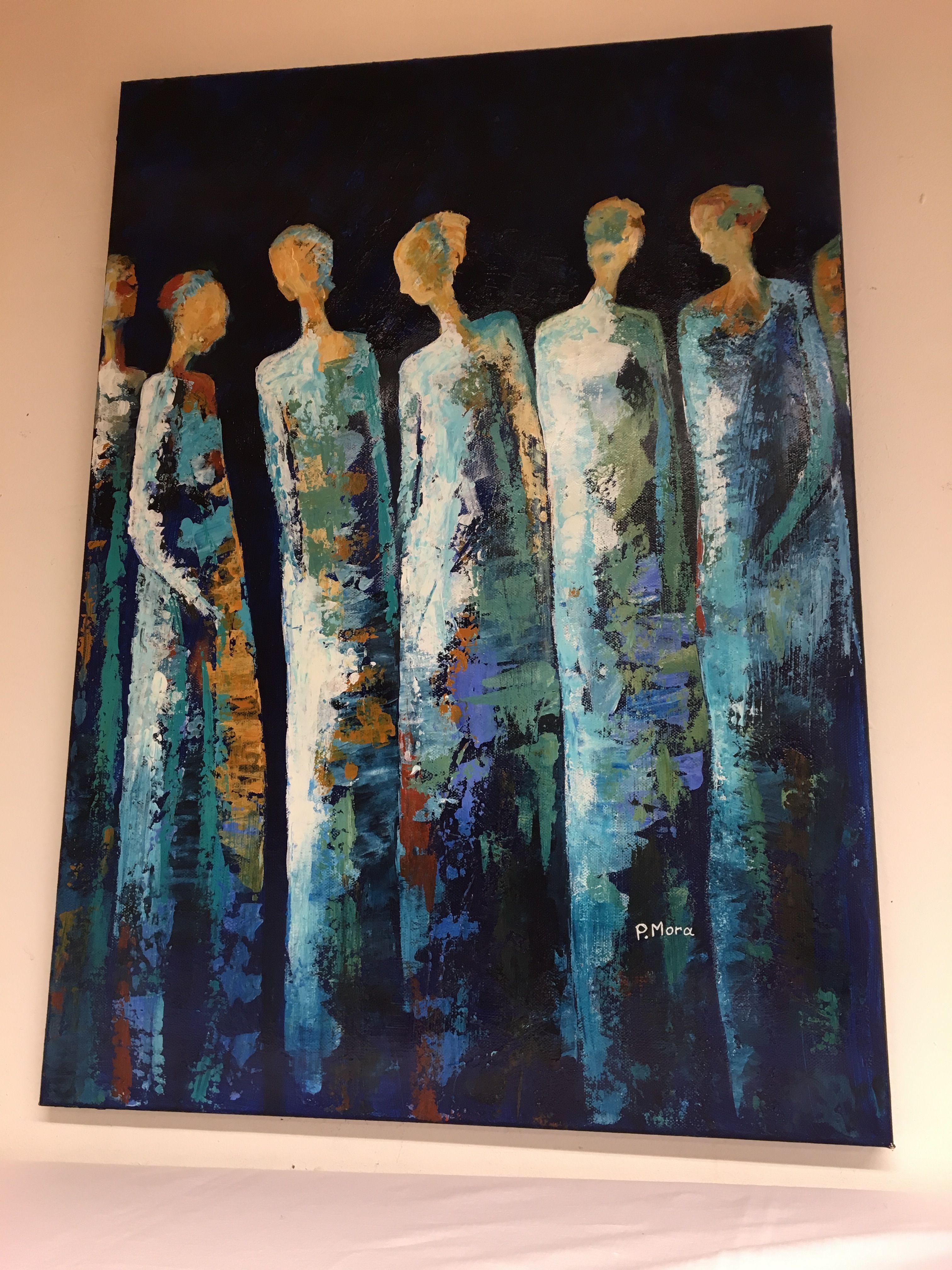 Image Du Tableau Silhouette De Daniele Poirier Peinture