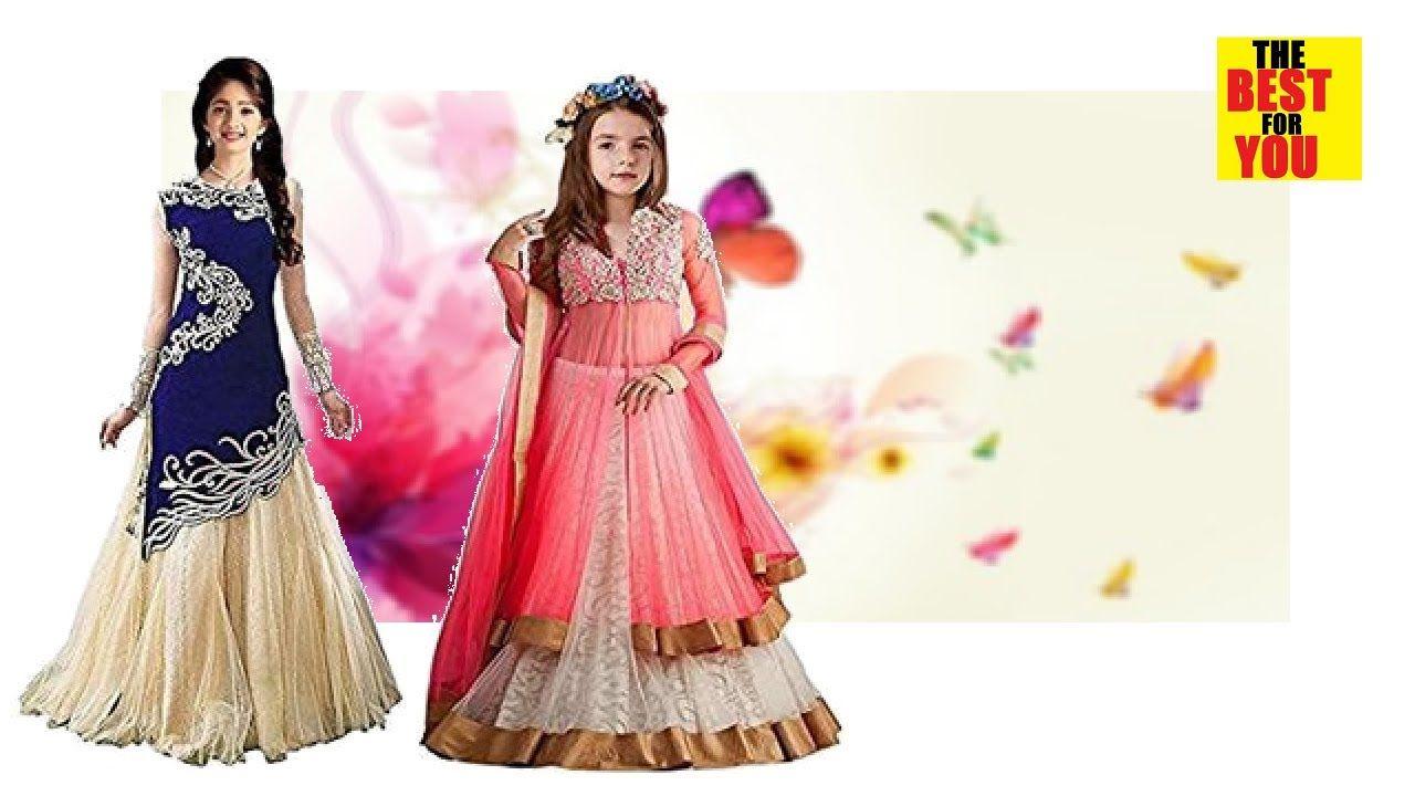 Fashion Indian Dresses For Girls Kids Dress Designs -5734