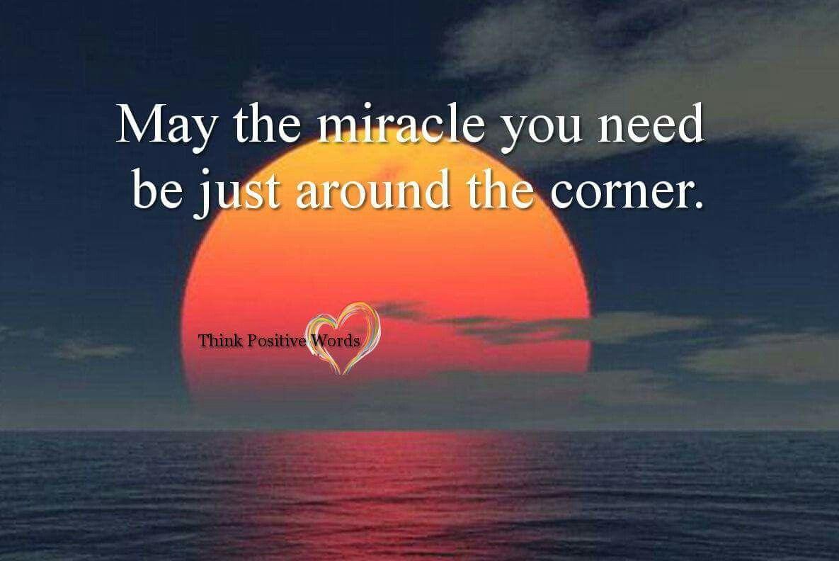May the miracle