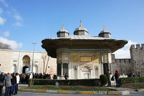 터키 이스탄불 도카프 궁전. 지금은 박물관으로...