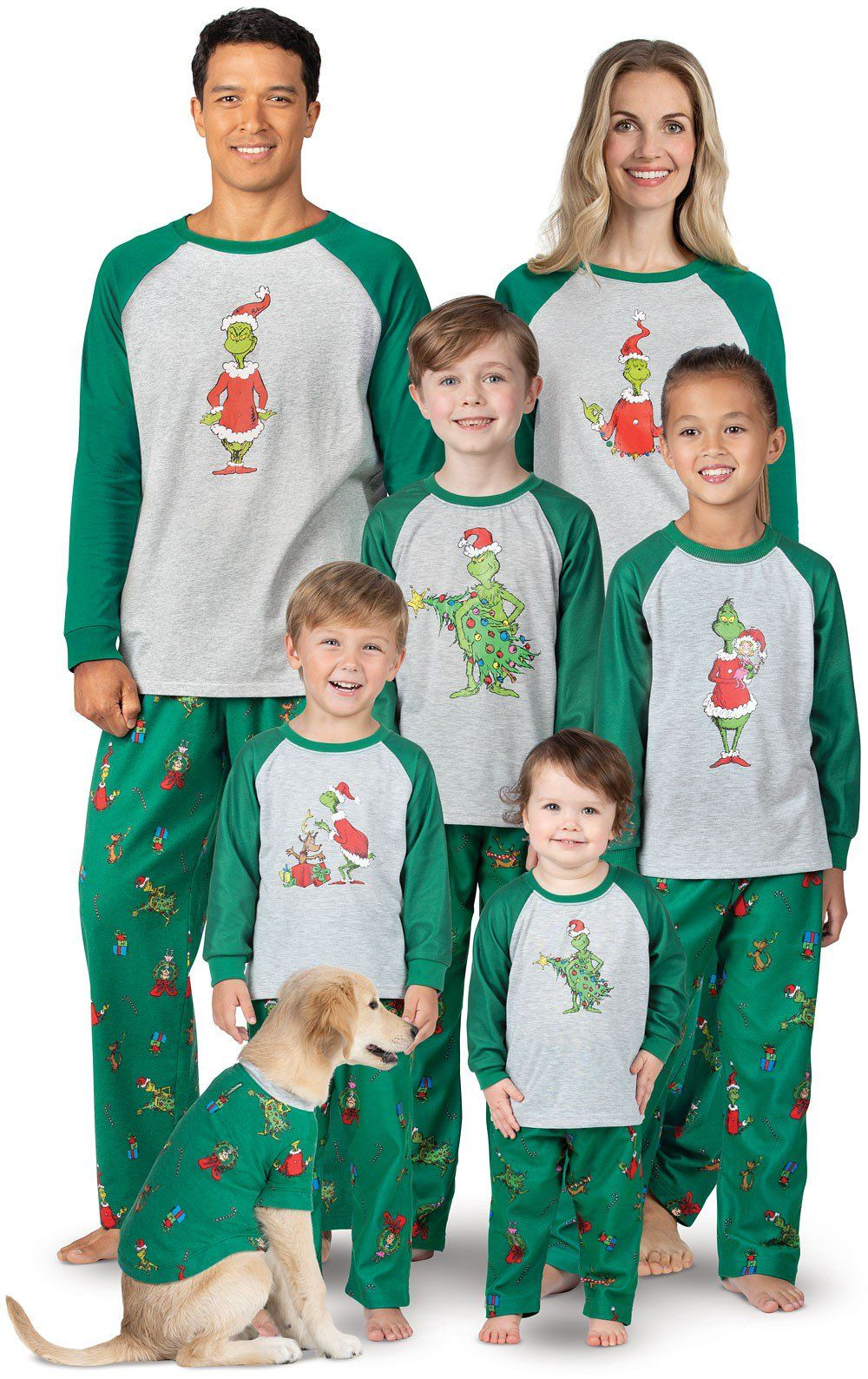 7513259a20 Dr. Seuss  The Grinch™ Matching Family Pajamas