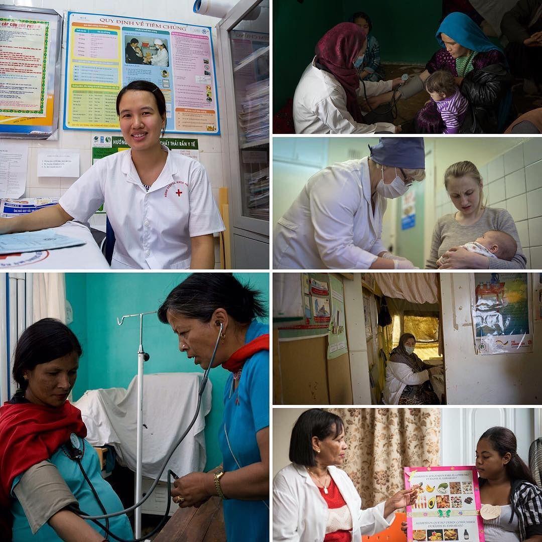 Today is InternationalWomensDay! Worldwide as nurses