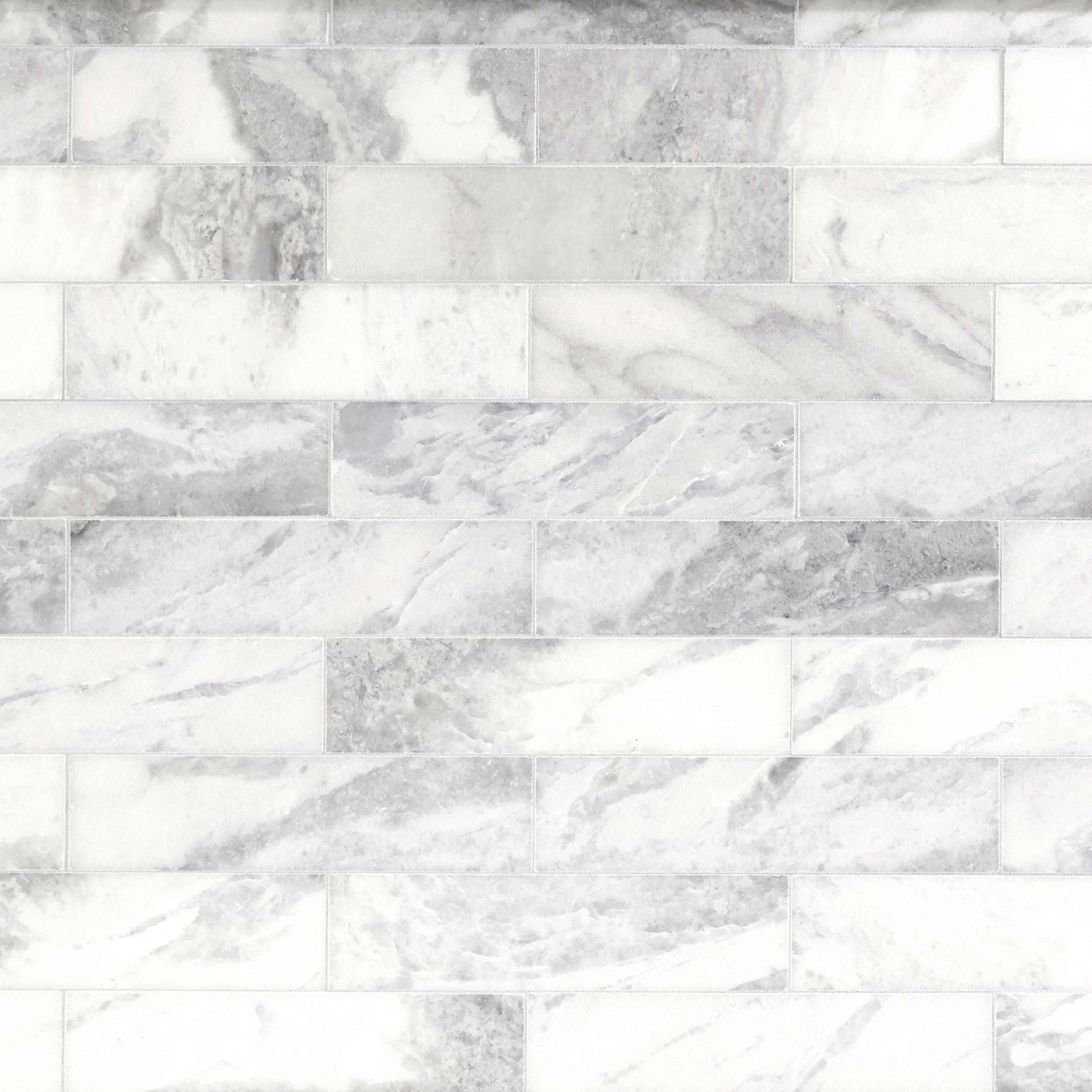 Sahara Carrara Polished Marble Tile In 2020 Polished Marble Tiles Carrara Marble Tile Carrara Marble