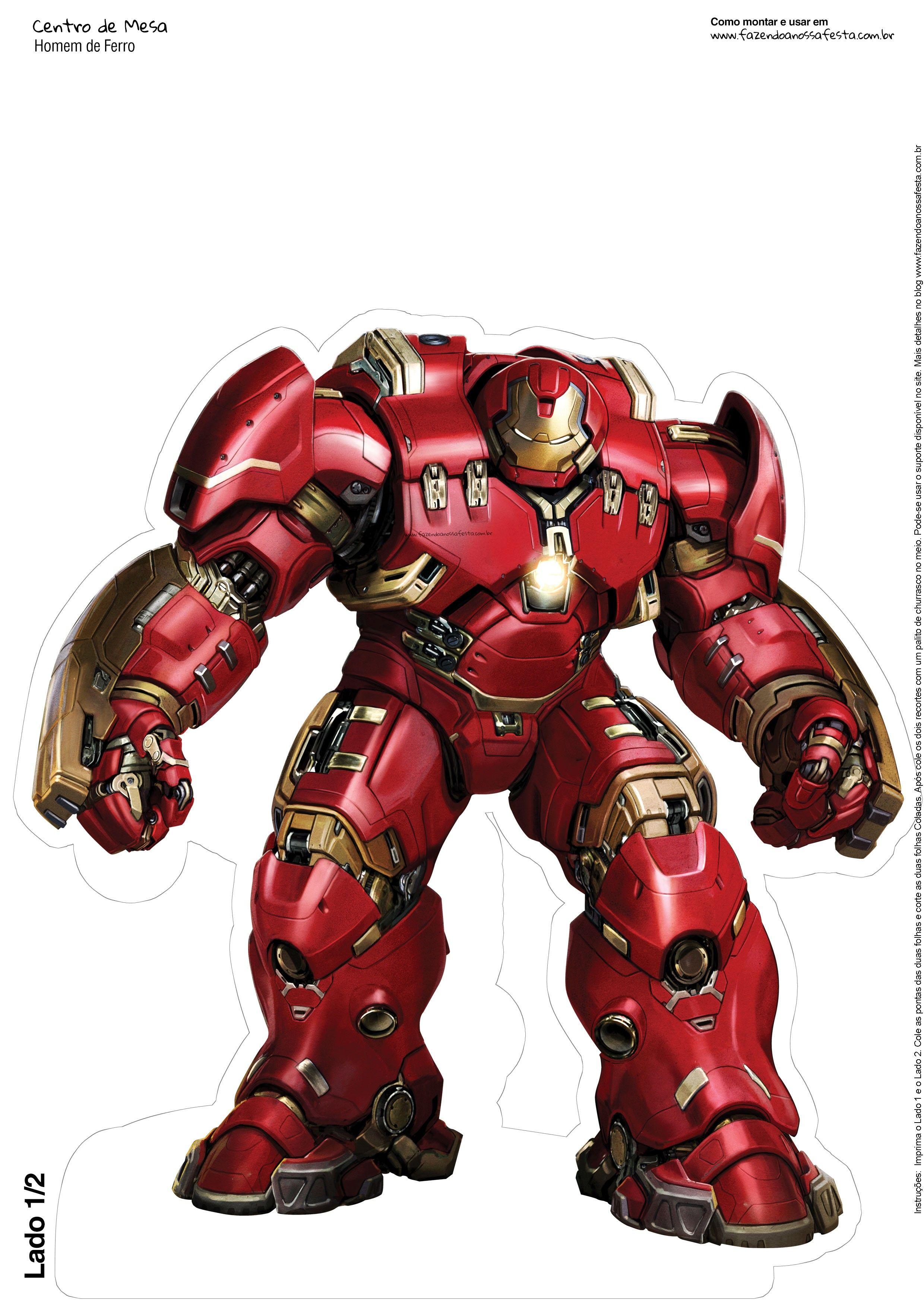 Pin Em Iron Man Printables