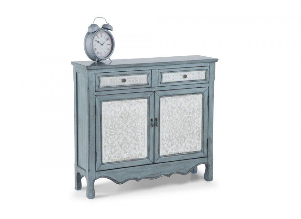 Blue U0026 White Cabinet | Accent Cabinets | Home Accents | Bobu0027s Discount  Furniture